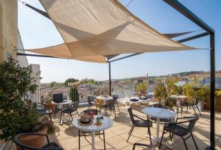 Hotel du Globe - terrasse