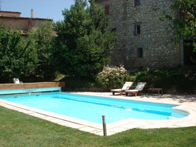 La Maison du Papé - La piscine