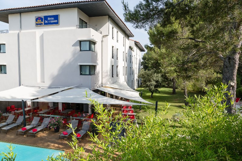 best western plus hotel de l 39 arbois h tel aix en provence. Black Bedroom Furniture Sets. Home Design Ideas