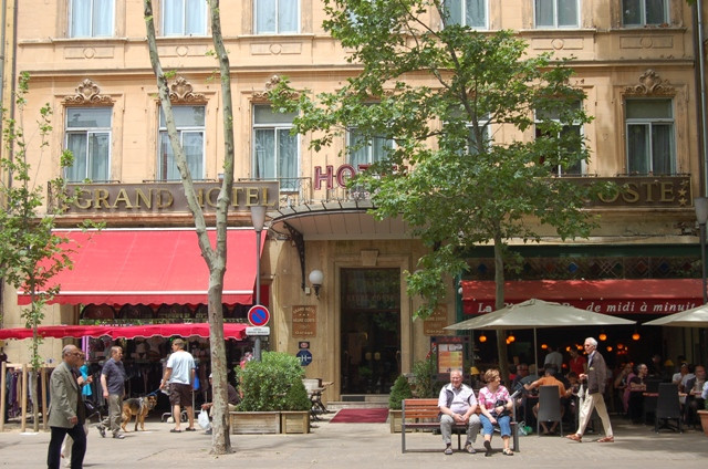 Grand Hotel Negre Coste Aix En Provence Tourist Office Booking Center