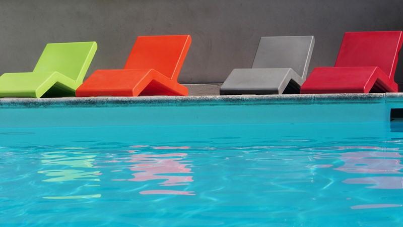 les mimosas  piscine ST MARC JAUMEGARDE
