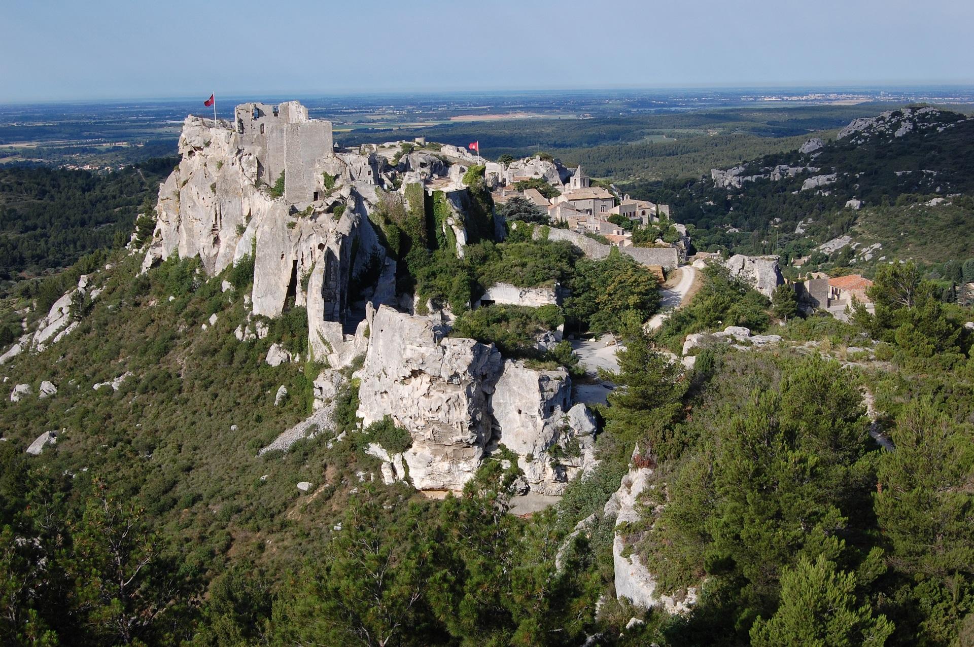 Excursion les baux de provence et les carri res de - Office de tourisme les baux de provence ...