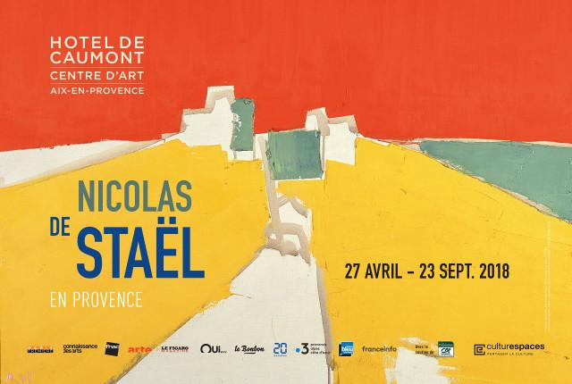 CAUMONT CENTRE D'ART - Exposition NICOLAS DE STAEL EN PROVENCE