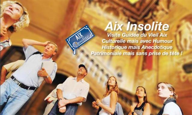 visite guidée Aix Insolite avec Jean Pierre Cassely