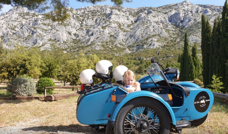 La Belle Echappée - Vintage side car tours