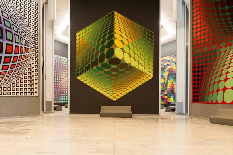 foundation vasarely painting trip ballad aix en provence art tourist office booking center aix en provence
