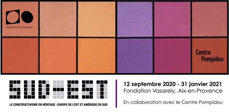 La Fondation Vasarely : Exposition Sud -Est