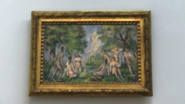Peinture au musée Granet - Aix en provence
