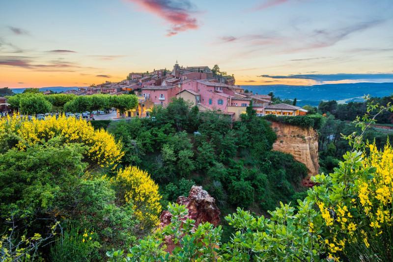 Villages perchés du Luberon : Roussillon