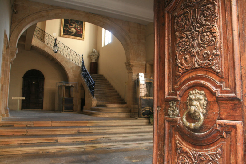 Visite des hôtels particuliers par Nicole de Palatinat