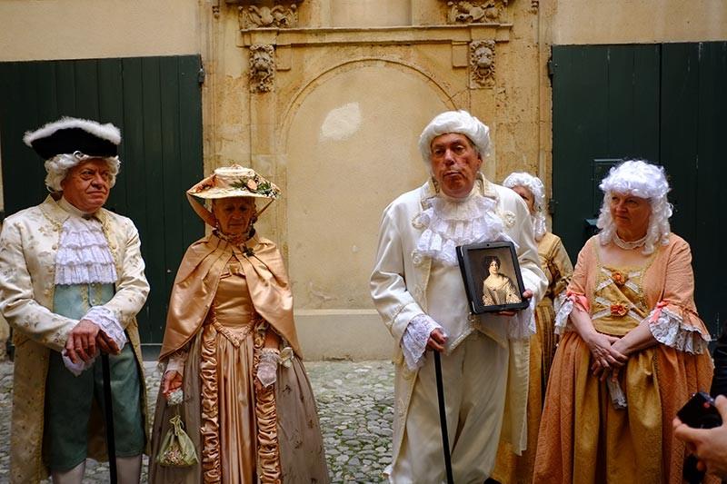 Visite guidée Libertins et Courtisanes par Jean Pierre Cassely