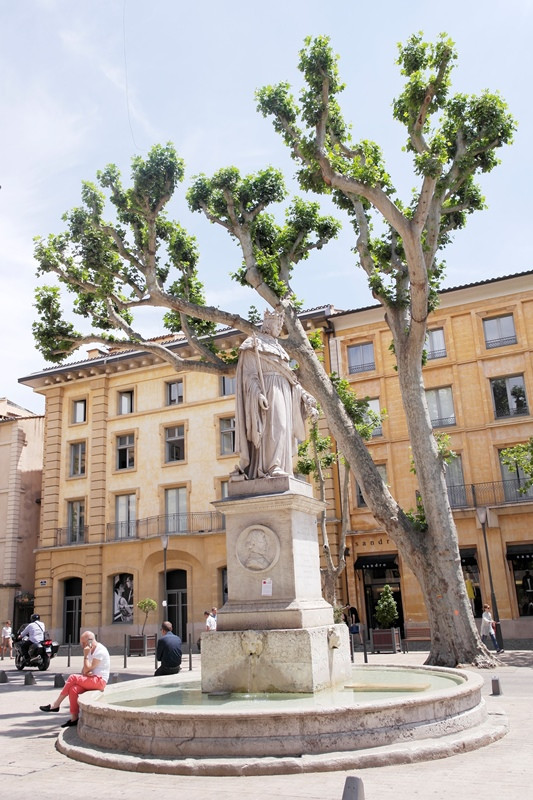 FOUNTAINS AND GARDENS OF AIX EN PROVENCE